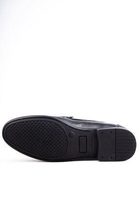 Milano Brava Hakiki Deri Günlük Loafer Erkek Ayakkabı Hsm904 Siyah 2