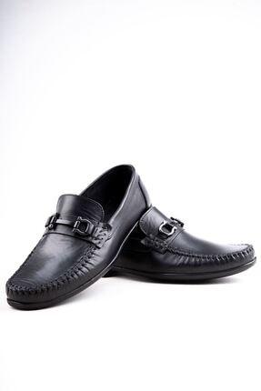 Milano Brava Hakiki Deri Günlük Loafer Erkek Ayakkabı Hsm904 Siyah 4