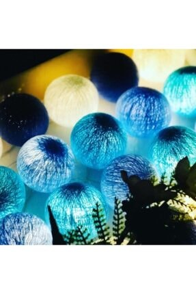 Moonlight Işıklı Toplar Mavi/bebe Mavi/turkuaz/beyaz 2