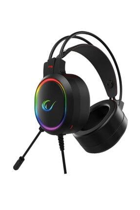 Rampage RM-K12 MANLY Siyah 7,1 USB Surround RGB Işık Efektli Gaming Oyuncu Mikrofonlu Kulaklık 2