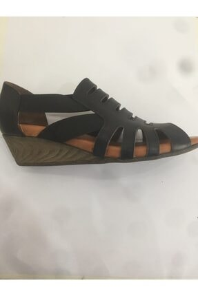 Ceyo 06 Siyah Bayan Anatomik Ayakkabı 1