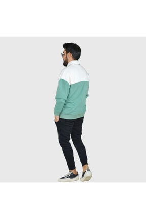 Trendbir Yeşil Sweatshirt Erkek Trend Giyim 2