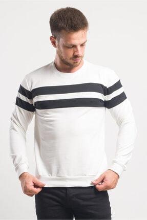 caddecity Göğüs Çift Bantlı Sweatshirt 0