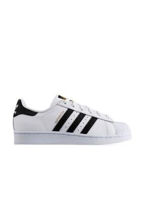 adidas Superstar Günlük Spor Ayakkabı Beyaz C77124 0