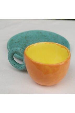 Topraktan Sanata Seramik El Yapımı Kahve Fincanı 4