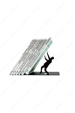 ohuga Metal Kitap Tutucu Kitap Tutan Adam Figürlü Kitap Desteği, Dekoratif Kitaplık 0