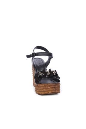 Kemal Tanca Kadın Derı Sandalet Sandalet 169 51454 Bn Sndlt 1