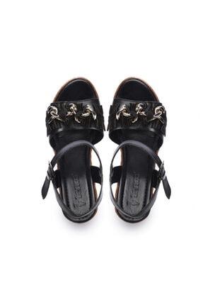Kemal Tanca Kadın Derı Sandalet Sandalet 169 51454 Bn Sndlt 3
