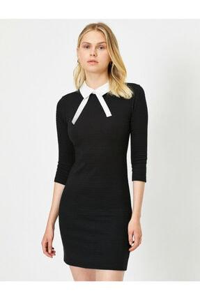 Yaka Detayli Elbise 0KAK86255IK