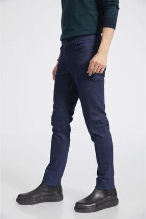 Avva Erkek Lacivert Slim Fit Jean Pantolon E003503 2