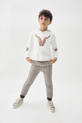 Erkek Çocuk Ekose Pantolon 20fw0nb3217 resmi