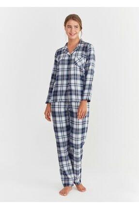 Suwen Adelina Maskulen Pijama Takımı 0