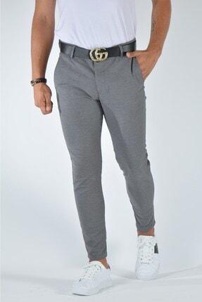 Terapi Men Erkek Slim Fit Keten Pantolon 20y-2200321 Gri 0