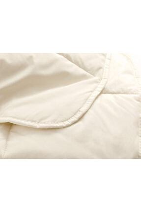 English Home Layna Yıkanabilir Yün Tek Kişilik Yorgan 155x215 Cm Beyaz 2