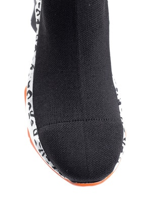 Derimod Kadın Kalın Renkli Tabanlı Çorap Bot 4