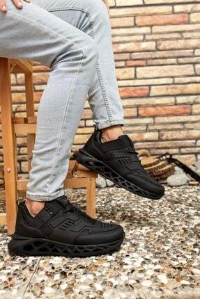 Riccon Siyah Siyah Erkek Sneaker 00122021 1