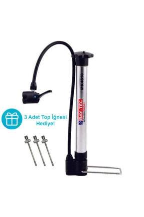 Baytec Bay-tec Bisiklet Pompası Krom + 3 Adet Top Iğnesi 0