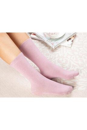 English Home Lucky Pamuk Kadın Çorap Pembe 0