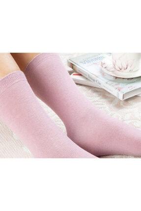 English Home Lucky Pamuk Kadın Çorap Pembe 1