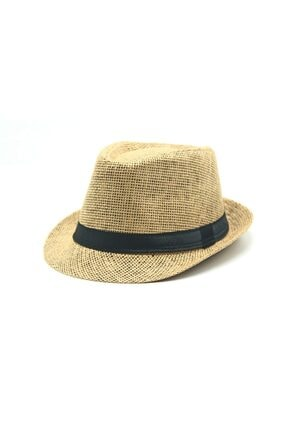 Accesory City Hasır Fötr Şapka 0