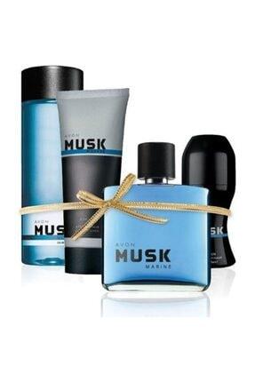 Avon Musk Marine Erkek Parfüm Seti 0