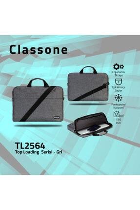 Classone 15,6 inç Uyumlu Laptop Notebook El Çantası Tl2564 4