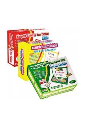 DIY Toys Manyetik Tablet Alfabe - Matematik Ve Ingilizce 3'lü Eğitim Seti 0