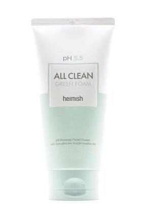 Heimish All Clean Green Foam - Ph 5,5 Değerinde Hassas Ciltlere Için Temizleyici 0