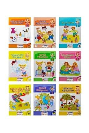 Temel 5-6 Yaş Mutlu Çocuklar Okula Başlıyorum Eğitim Seti 1