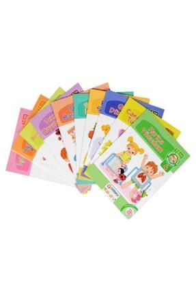 Temel 5-6 Yaş Mutlu Çocuklar Okula Başlıyorum Eğitim Seti 2
