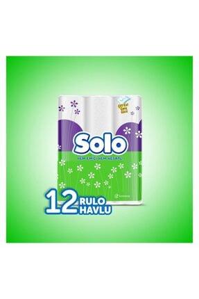 Solo Kağıt Havlu 48 Rulo (12x4 Rulo) 2