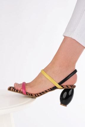 Marjin Kadın Multi 1 Topuklu Sandalet İnvez 3