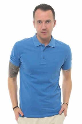 Cazador Caz 4613 Erkek Mavi Polo T-shırt 0