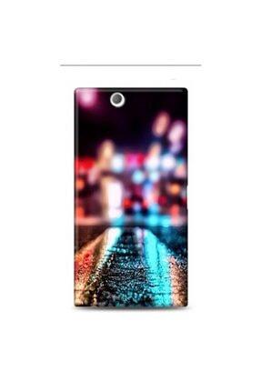 Sony Xperia Z Ultra Islak Yollar Desenli Kılıf BBK177519