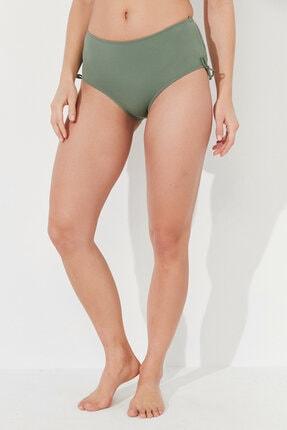 Penti Kadın Yeşil Army Basic Yüksek Bel Bikini Altı 0