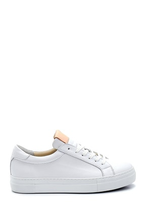 Derimod Kadın Beyaz Deri Sneaker 0