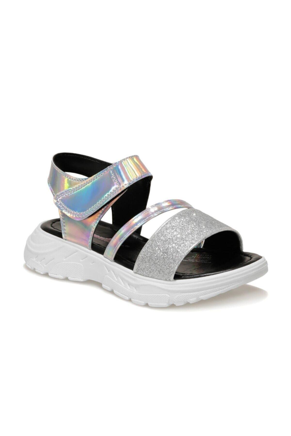 YASI 1FX Gümüş Kız Çocuk Sandalet 101028565