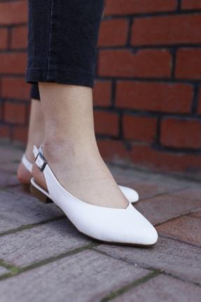 RICH&FAMOUS Kadın Arkası Açık Ortopedik Sandalet Babet 1