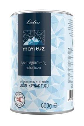 Mayi Tuz Delice Iyotlu Ince Sofra Tuzu 600 gr 0
