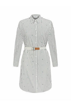 Twist Kadın Beyaz Çift Parça Elbise 3