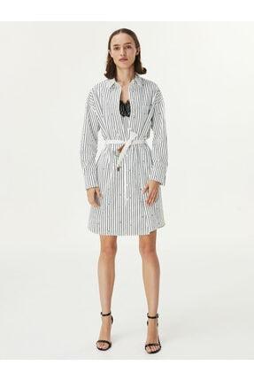 Twist Kadın Beyaz Çift Parça Elbise 4
