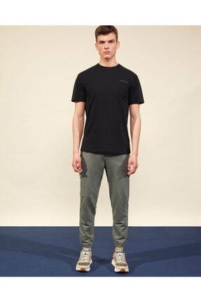 Skechers Graphic Tee M Crew Neck T-Shirt Erkek Siyah Tshirt 0
