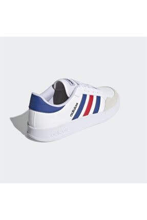 adidas BREAKNET Beyaz Erkek Sneaker Ayakkabı 101079837 4