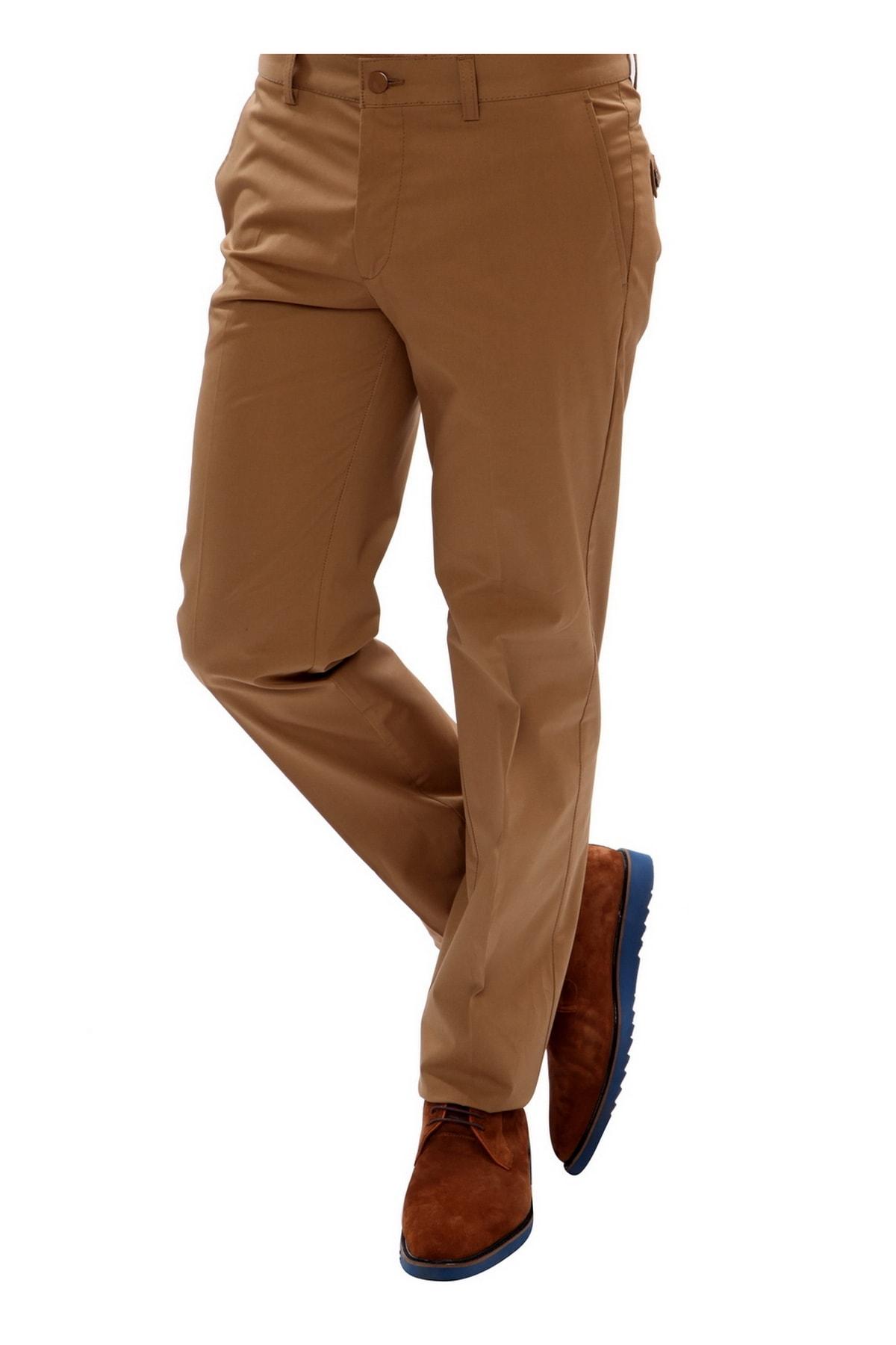 Efor Erkek Kahverengi Slim Fit Spor Pantolon P 905