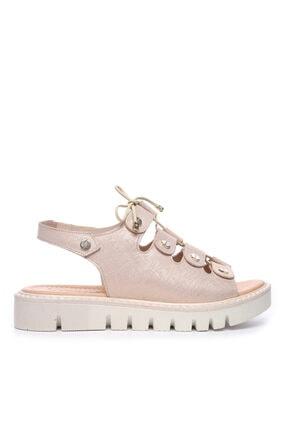 Kemal Tanca Kadın Derı Sandalet Sandalet 169 51904 Bn Sndlt 0