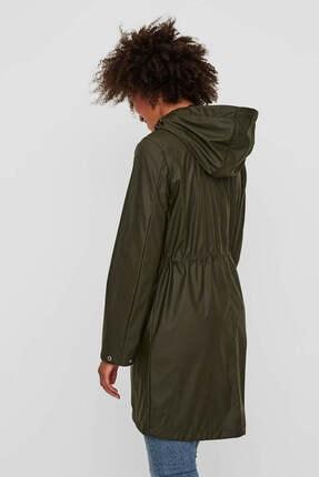 Vero Moda Kadın Haki Yağmurluk 10199174 2