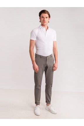 Dufy Taş Armür Pamuk Likra Karışımlı Erkek Pantolon - Classic Fit 2