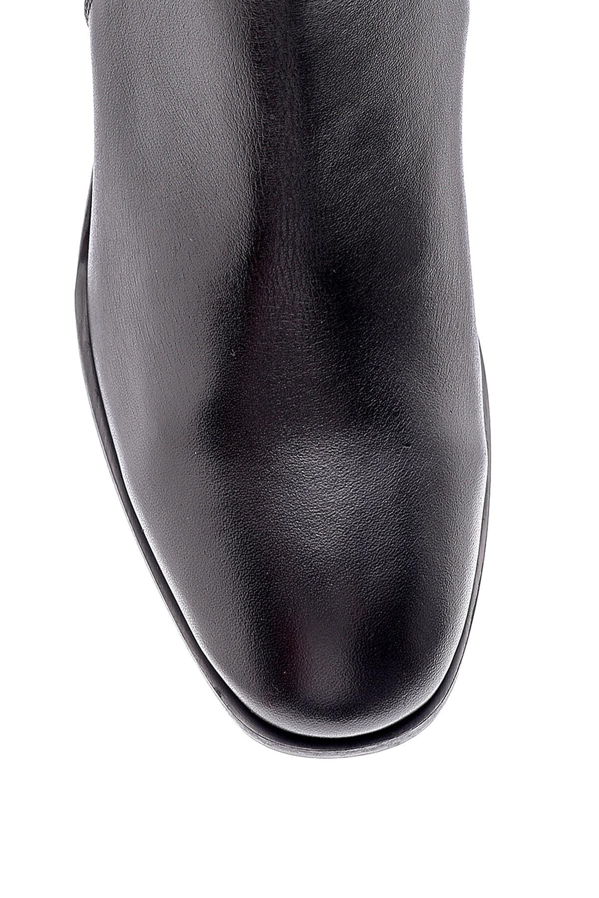 Derimod Kadın Deri Topuklu Bot