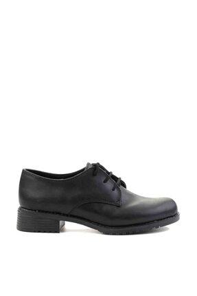 Bambi Siyah Kadın Oxford Ayakkabı M0626144209 1