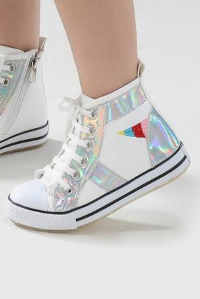 ZENOKIDO Unicorn Hologram Detaylı Kız Sneakers Ayakkabı 0